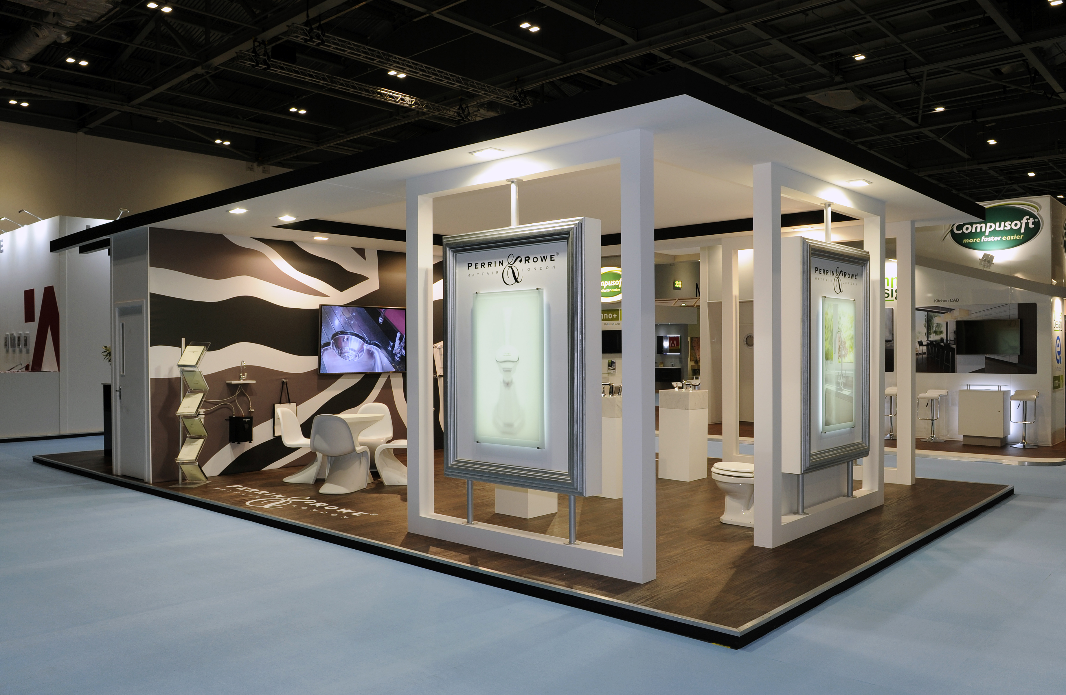 Modern Exhibition Stand Up : Exhibition stand design inspiration